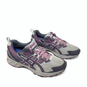 ASICS Gel Enduro 7 Running Shoes Pink Gray